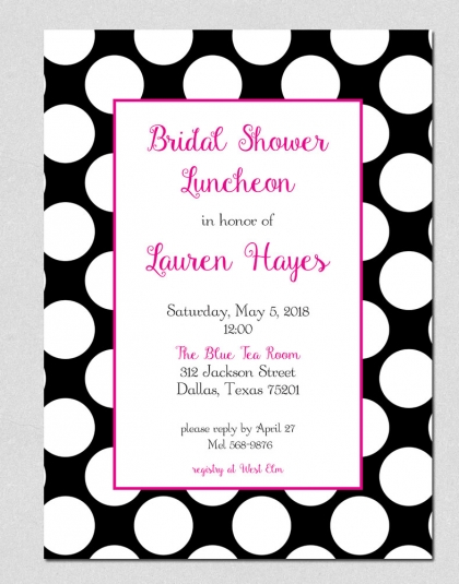 black-white-polka-dot-bridal-shower-invitation