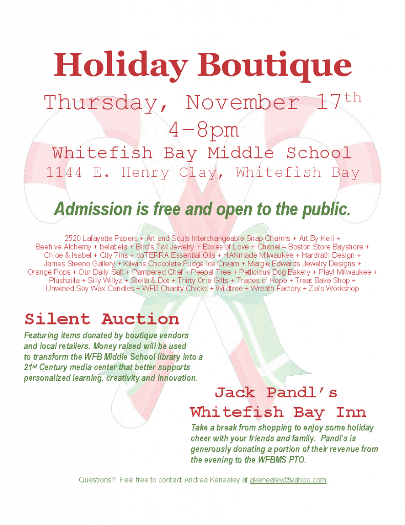 Whitefish Bay Holiday Boutique