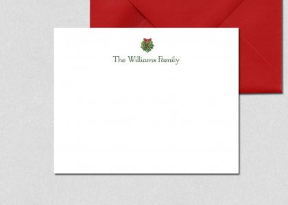 mistletoe-note-cards-red-envelope